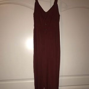 Other - Maroon Jumpsuit